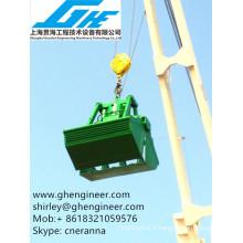 Utilisation hydraulique de la grue marine prise hydraulique à clapet