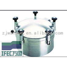 Sanitary Stainless Steel Round Manhole (IFEC-MH100008)