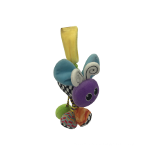 Joaninha de pelúcia brinquedo de rede