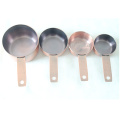 4 PCS en acier inoxydable Electroplated Measuring Cup