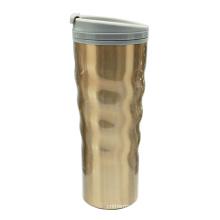 Gebogene Edelstahl Vakuum Kaffee-Haferl 16oz Golden Desert