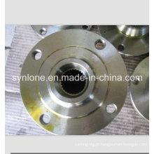 Flange fazendo à máquina das partes flange de Mteal para a flange de aço inoxidável da indústria