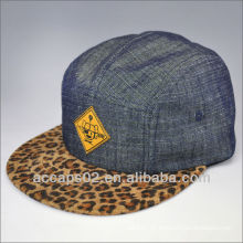 Mode-Leopard-Druck 5-Panel-Hut