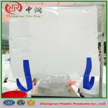 Sacs à ordures de grand sac de polypropylène 1000kgs, sacs en vrac en plastique