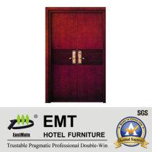 Deluxe Hotel Wooden Schlafzimmer Türen (EMT-HD11)