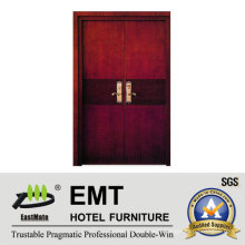 Deluxe Hotel Wooden Bedroom Doors (EMT-HD11)