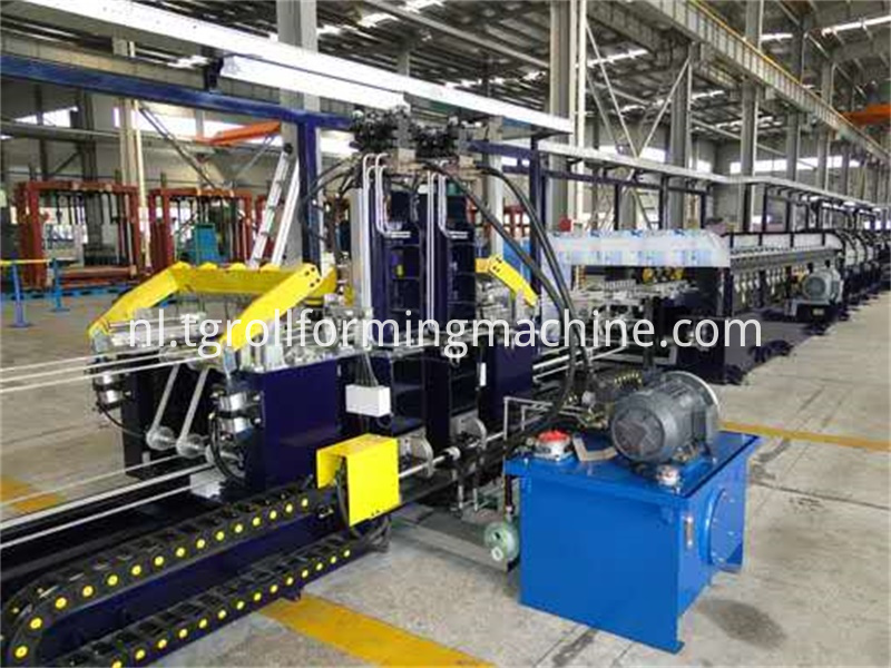 Refrigerator U Profile Sidewall Roll Forming Machines