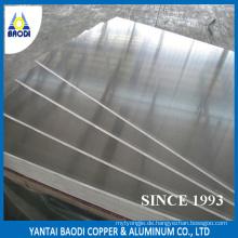 5052 H32 Aluminium-Panel Rabatt 4 '* 8' Mühle Finish Baustoff Hardware für Indien Markt