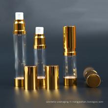 Bouteille en plastique de 15 ml, bouteille sans air (NAB23)