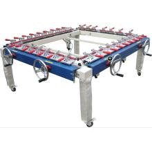 Máquina de estiramiento de impresión de pantalla de seda