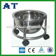 hospital or clinic used kick bucket for holder for medical waste