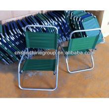 Outdoor pliante chaise de jardin, chaise de plage de sable, chaise pliable pation