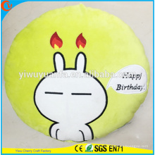 Hot Selling High Quality Novelty Design Christmas Gift Tuzki Rabbit Plush Pillow