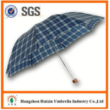 Dernière usine gros Parasol impression Logo sur-mesure 3 pli, parapluie