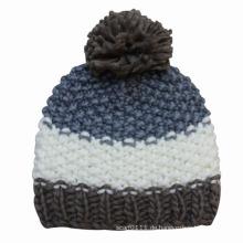Lady Fashion Wolle gestrickte Winter warme Mütze Hut (YKY3107)