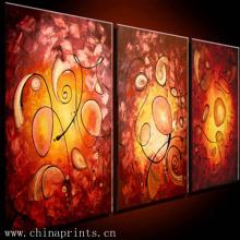3 Panel Fine Art Group Oil Painting