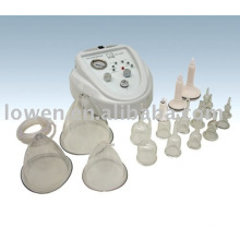 Estimulador de vacío Terapia de masaje Salon Beauty Machine