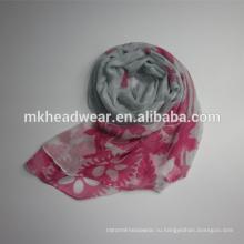 Красочный 100 полиэфирных шарф