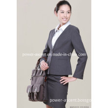 One Button Wrinkle-Free Office Ladies Women's Formal Bank/School/Hotel Uniform Suit