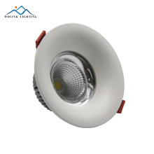 free sample round energy saving adjustable cob 20 watt led downlight