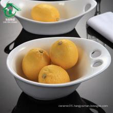 2015 decorative antique fancy unique chinese porcelain fruit bowl