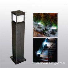Hot selling cuboid LED solar lamp for outside use with modern look