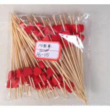 Hot Sale Heart Shape Bamboo Stick