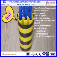 New Style Warehouse Plastic Column Protection pour rack avec prix d'usine