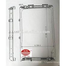 Venta al por mayor radiador para MAN F2000 (94-95) MTengine radiador de refrigeración núcleo 81061016421 81061016439