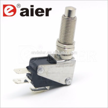 16a 125/250vac M12 screw push button micro switch