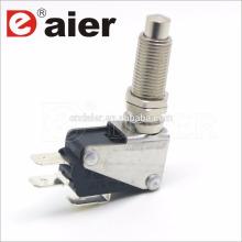 16a 125 / 250vac M12 parafuso botão interruptor micro