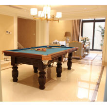 Precio barato alta calidad venta por mayor mesa de billar 7 pies y 8 pies y 9 pies