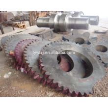 Piñón de cadena de alta calidad para maquinaria grande