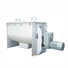 Industrial stainless steel double helix blender horizontal ribbon mixer for garlic powder
