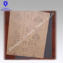 """9 """"* 11"""" graues Latex-Papier-Silikonkarbid-wasserdichtes abschleifendes Papier"""