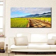 Imagem moderna da parede da HOME da paisagem