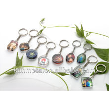 Sublimation Crystal Ball Keychain