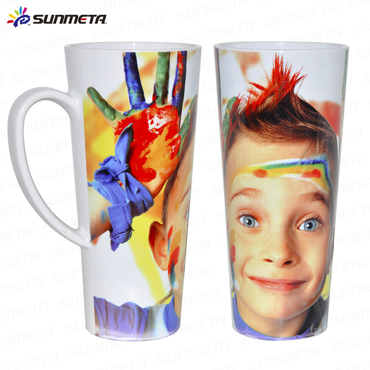 17oz Sublimation White Plastic Mug Blank Wholsales