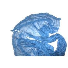 Mantón trimed de encaje de lana fina