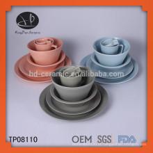 Restaurante placa de jantar cerâmica