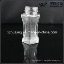 50ml Clear Empty Fashion Shape Glass Paprika Bottle