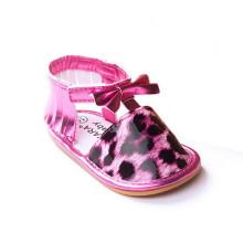 Außenhandel Rose Leopard Frühling Gummi Soled Baby Soft Bottom Sandalen