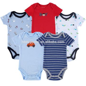 2017 heißer Verkauf Kleinkind Bodys Baby Tier Drucken Strampler Baby Kleidung Strampler Baby Jungen Strampler