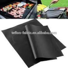 China-Lieferanten-Feuer-verzögernde BBQ-Grill-Matte, wie auf Fernsehapparat gesehen Non-stick Fiberglas BBQ-Grill-Matten-Backblech