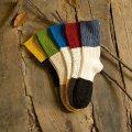 Красочные носки девушка чулок теплые зимние носки
