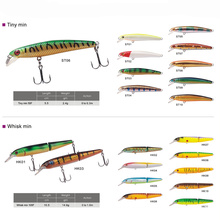 Hard Plastic Fishing Lures Manufacturer Artificial Minnow Lure