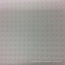 Vérifier la conception vêtement Jacquard Polyester tissu