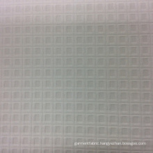 Check Design Polyester Jacquard Garment Fabric