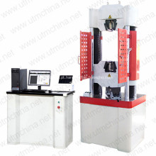Máquina de teste universal hidráulica elástica do Rebar