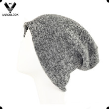 Men′s Acrylic Knitted Double Layer Beanie
